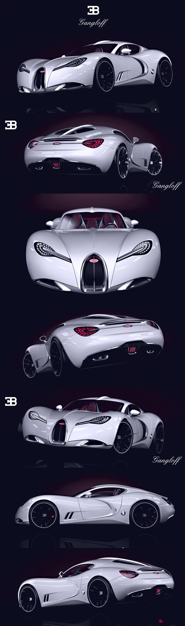 Bugatti Gangloff Invisium Concept car!