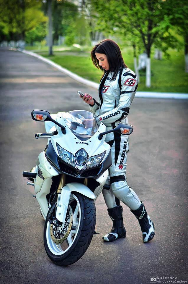 Love her bike!