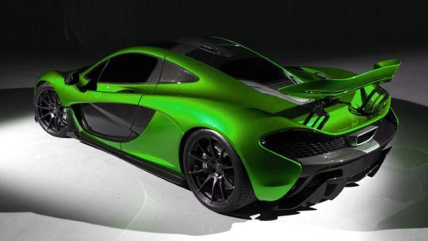 The McLaren P1 will