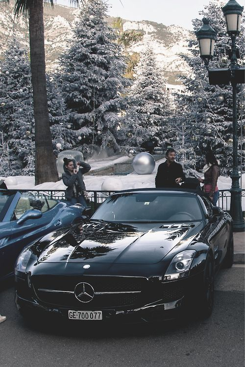 Mercedes Benz SLS AM